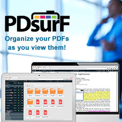 Organize your PDFs as you view them!
